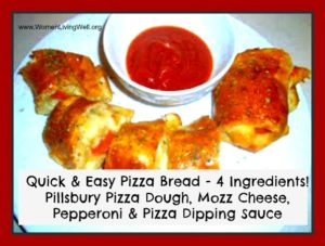 Quick and Easy Pizza Bread