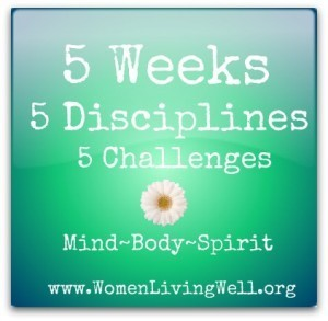 New Series: 5 Weeks 5 Disciplines 5 Challenges