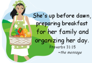 The Proverbs 31 Woman – Week 4