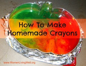 How To Make Homemade Crayons & Link-Up Party!
