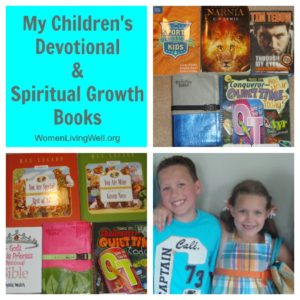 My Children's Devotional and Spiritual Growth Books