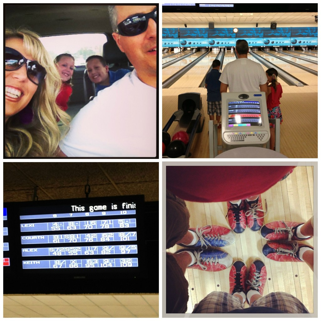 Bowling June 2013 Collage