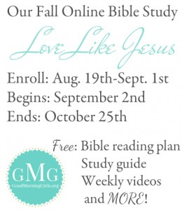GMG Fall Session & WLWW Monthly Link-Up Party!