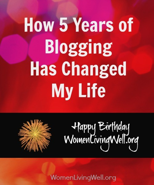 how 5 years of blogging has changed