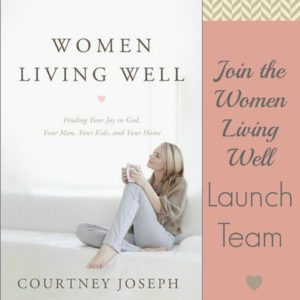 "Join the ""Women Living Well"" Book Launch Team!"