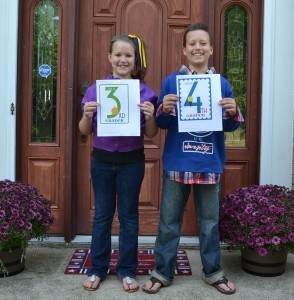 New School Pictures & Our 2013-14 Homeschool Curriculum