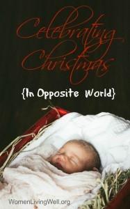 Celebrating Christmas {In Opposite World}