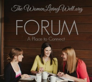 The WLW Forum & a Link-Up for the Book Club