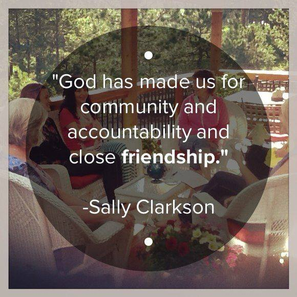 sally clarkson community