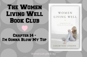 Women Living Well Book Club – Chapter 14 {When Moms Lose Their Temper}