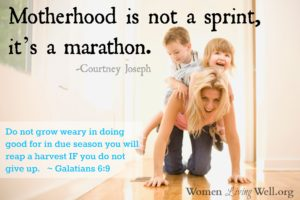 Women Living Well Book Club – Chapter 13 {Motherhood Mess-Ups}
