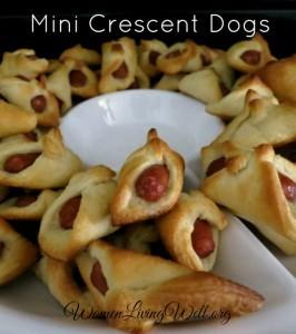 Mini Crescent Dogs