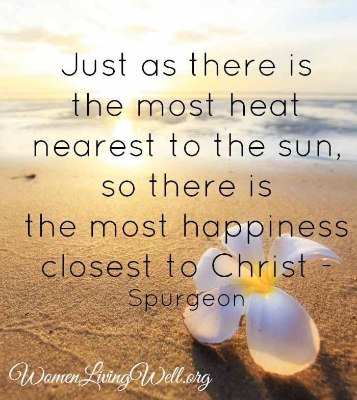 Close to Christ - Spurgeon