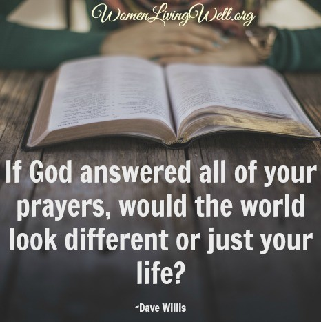 god answers prayers Over the years, i've discovered from scripture and experience that god loves to answer our prayers here are five of his most frequent answers.