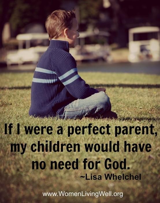 if i were a perfect parent