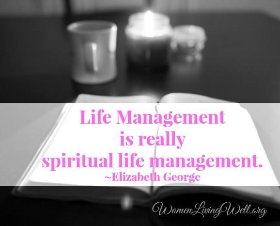 life management elizabeth george