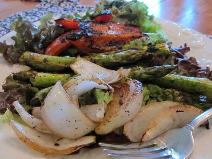 salad grilled veggie