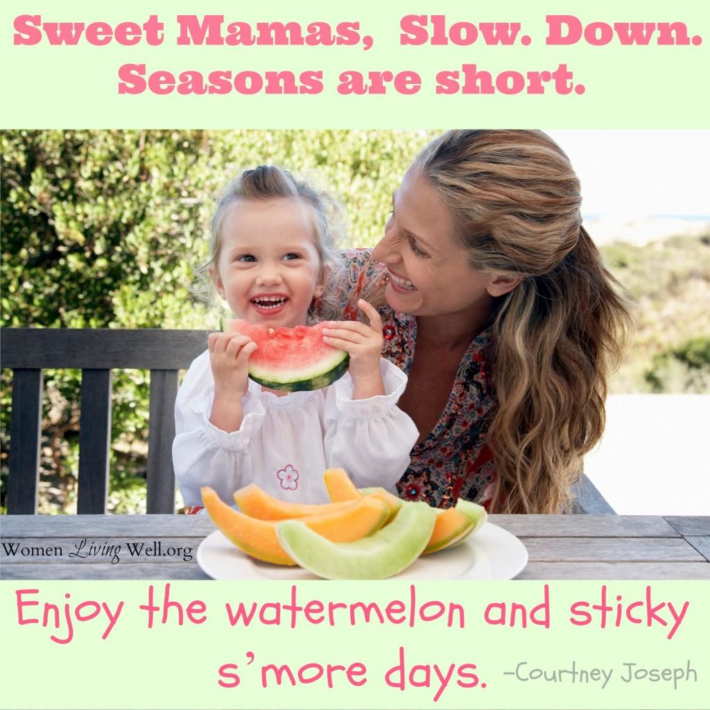 sweet mamas enjoy the watermelon days (1) (2)