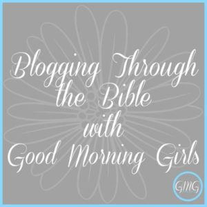 "It's Time to Begin ""Blogging Through the Bible!"" {GMG September Resources Here}"