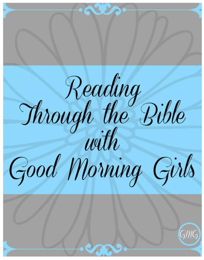 reading through the Bible Graphic