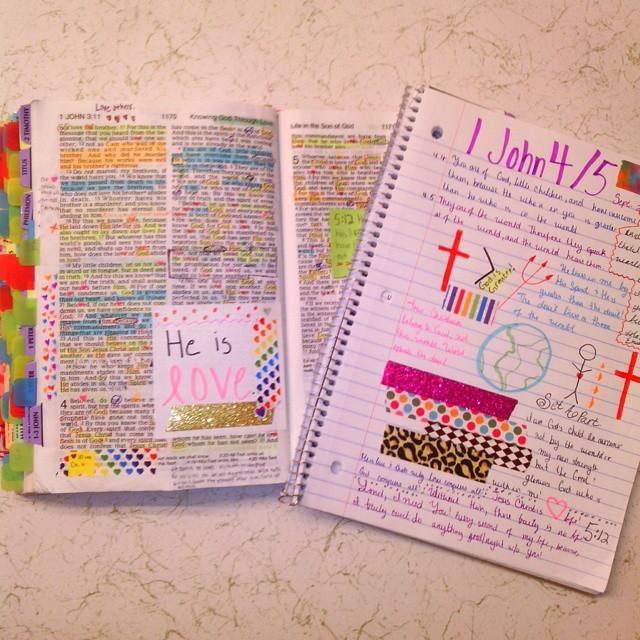 Bible Reading 1 John 4,5
