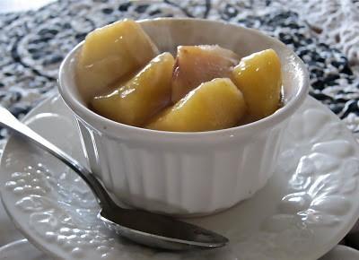 baked caramel apples 2