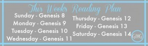 A Message for GMG Leaders & This Week's Reading Plan {10.5.14}