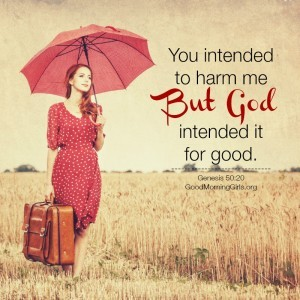 You Intended to Harm Me But God Intended it For Good {Genesis 50}