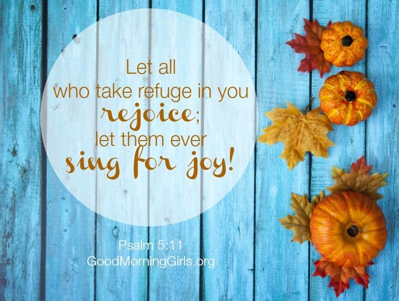 Psalm 5-11 rejoice