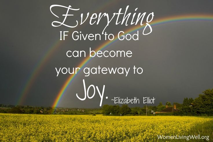 gateway to joy elisabeth elliot