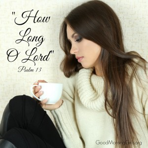 How Long O Lord? {Psalm 13}