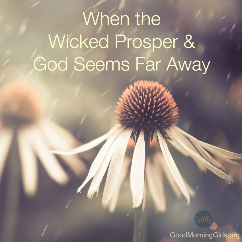 When the wicked prosper and God seems far away
