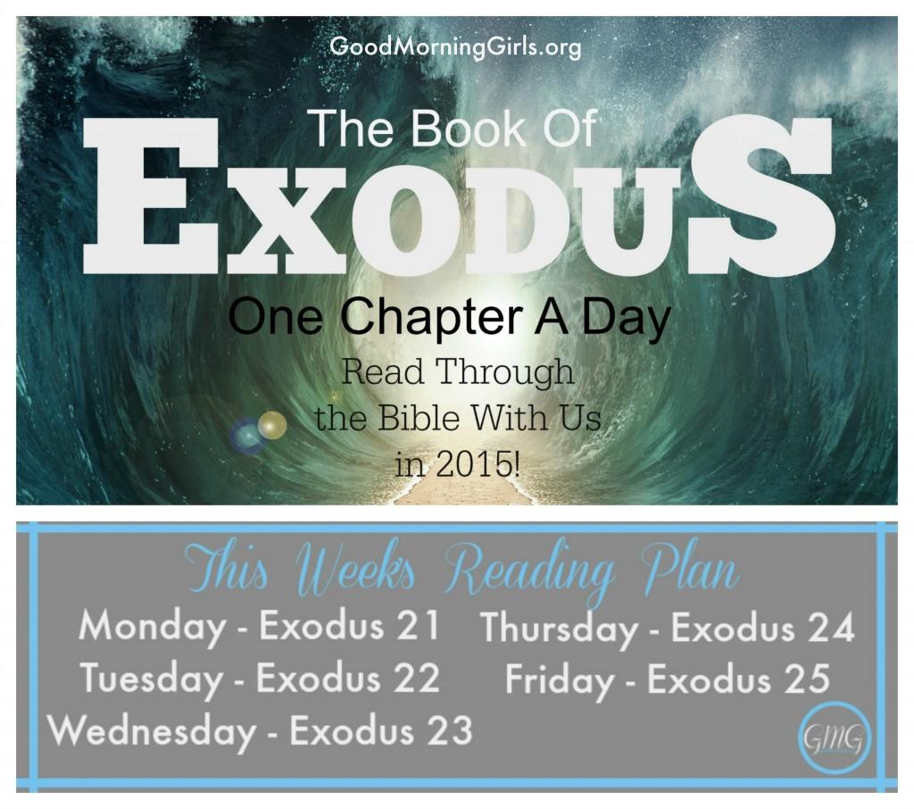 Exodus week 5 reading plan