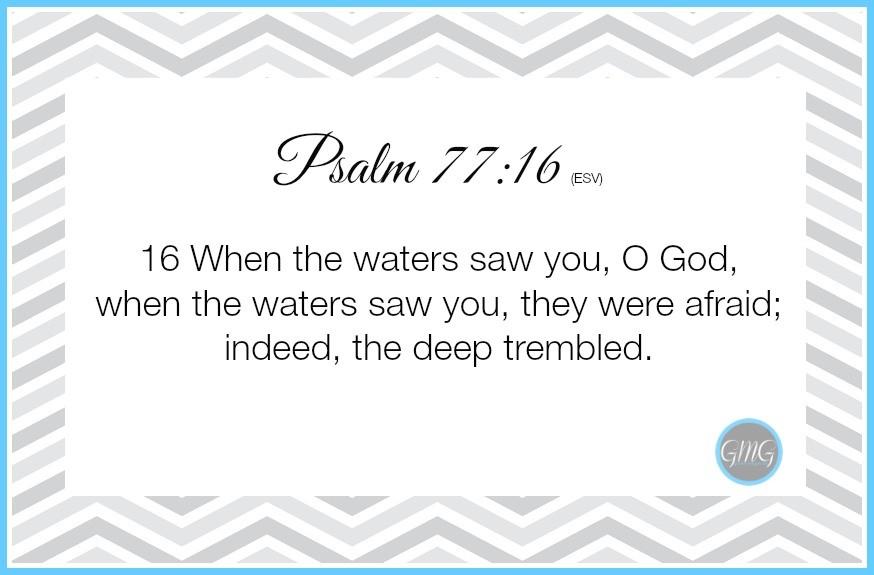 Memory Work Psalm 7716