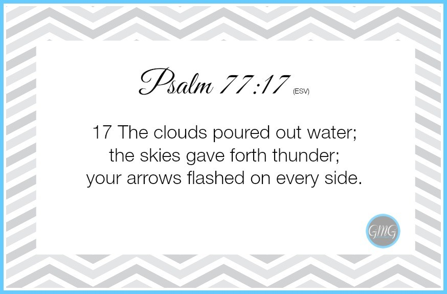 Memory Work Psalm 7717