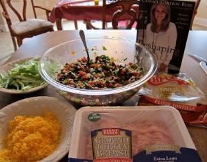 Candace Cameron Bure's Turkey Tacos