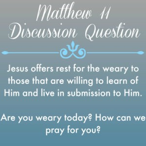 Matthew11