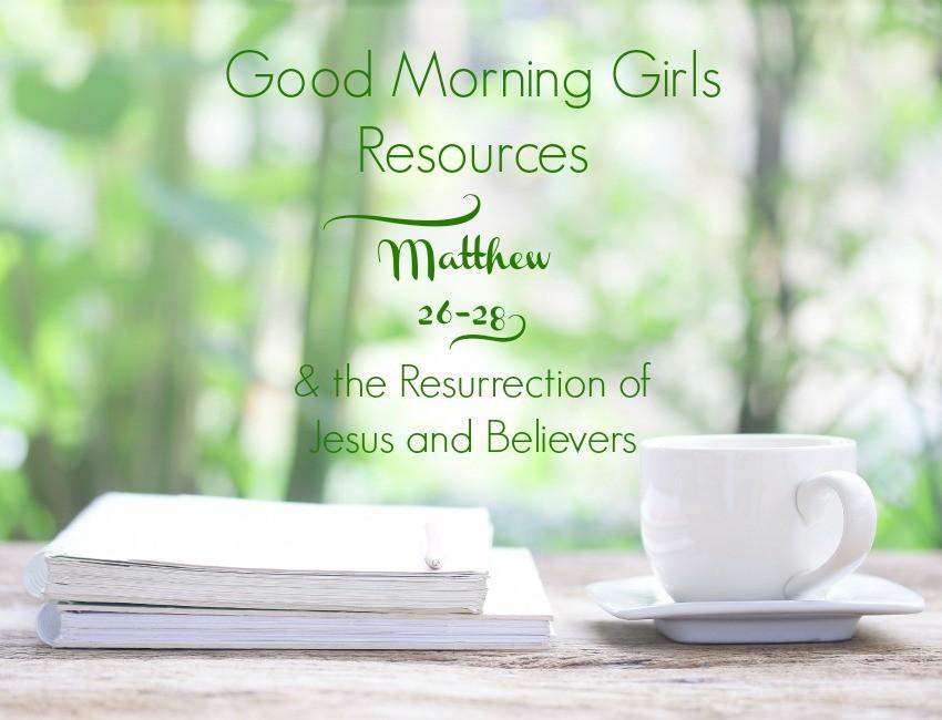 GMG Resources Matthew 26 - 28