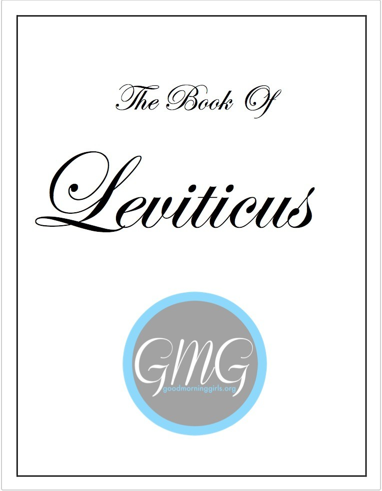 the book of leviticus eJournal pic