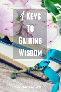 4 Keys to Gaining Wisdom {Proverbs 3}
