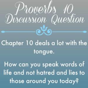 Proverbs10
