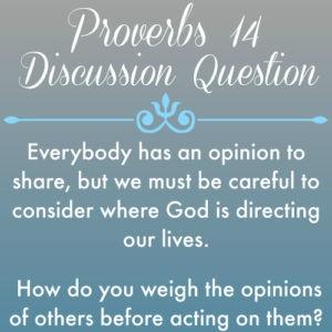 Proverbs14