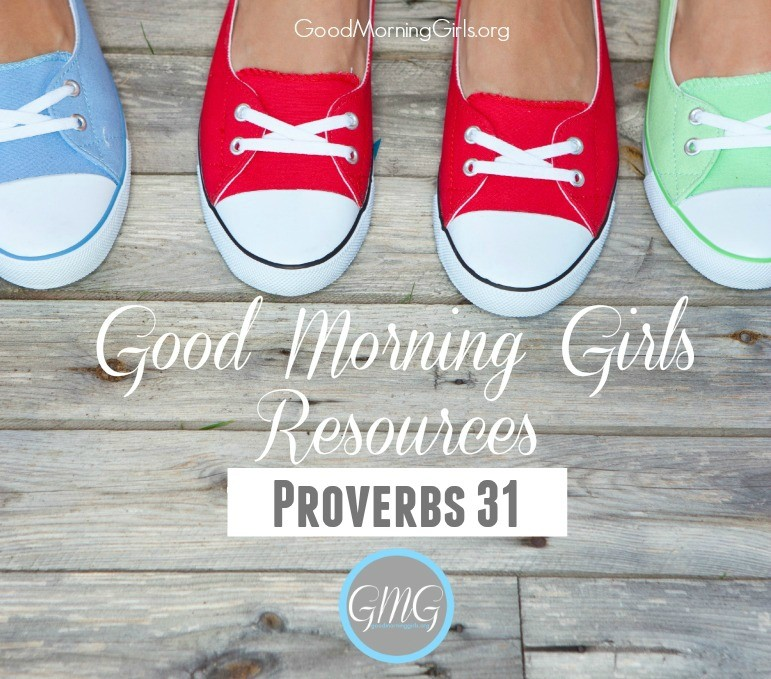 GMG Resources Proverbs 31