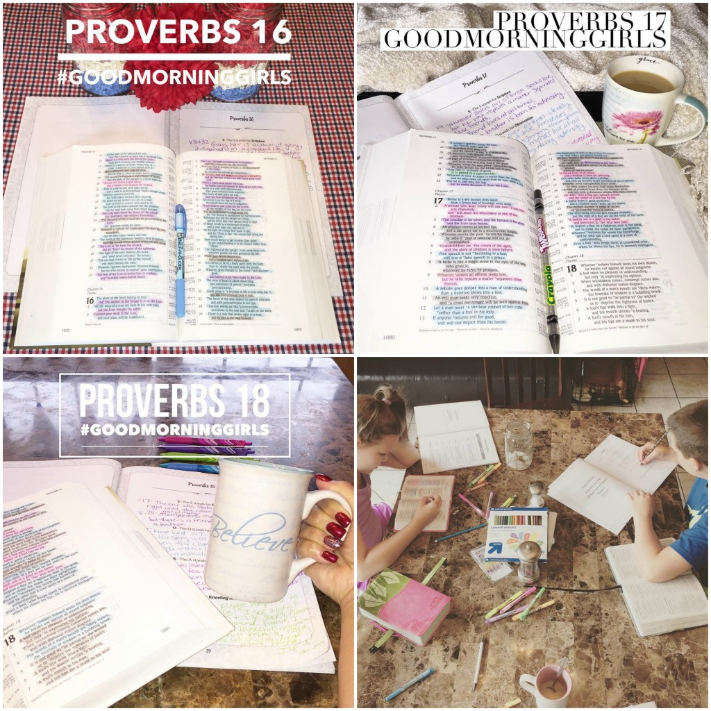 Instagram collage Proverbs 16-20