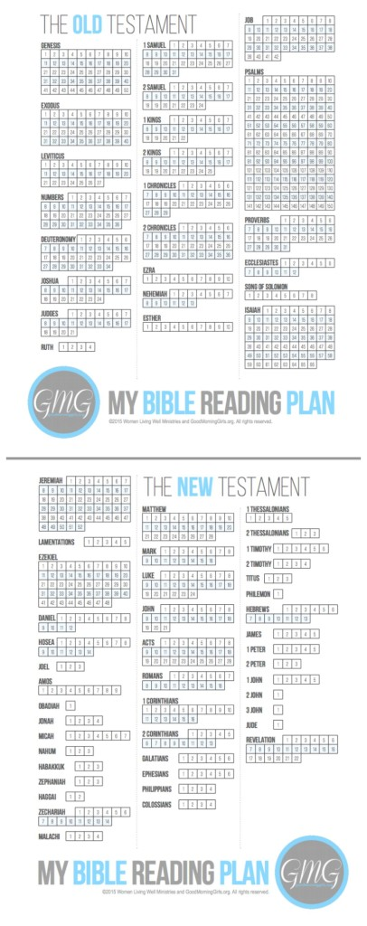 My Bible Reading Plan collage 2