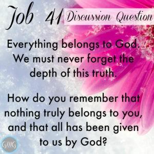 Job 41a