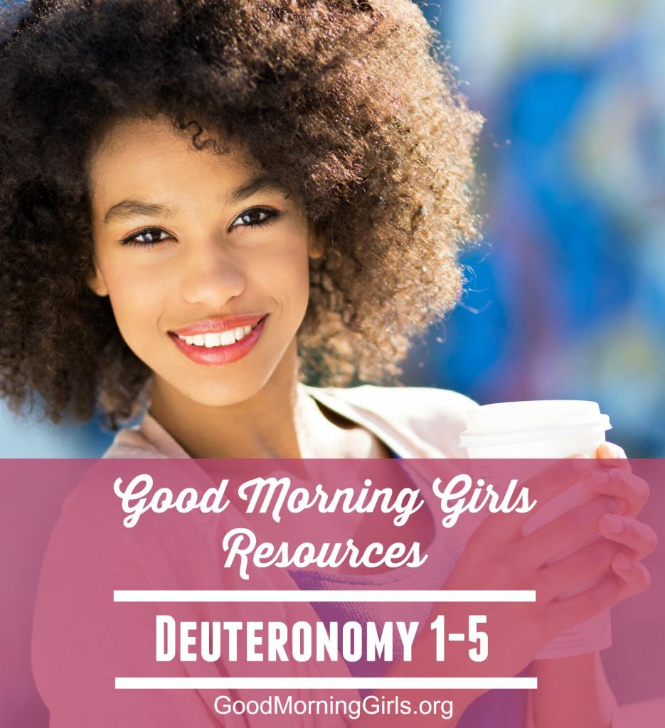 Deuteronomy 1-5