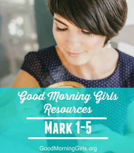 It's Time to Begin the Book of Mark! {Intro and Resources for Mark 1-5}