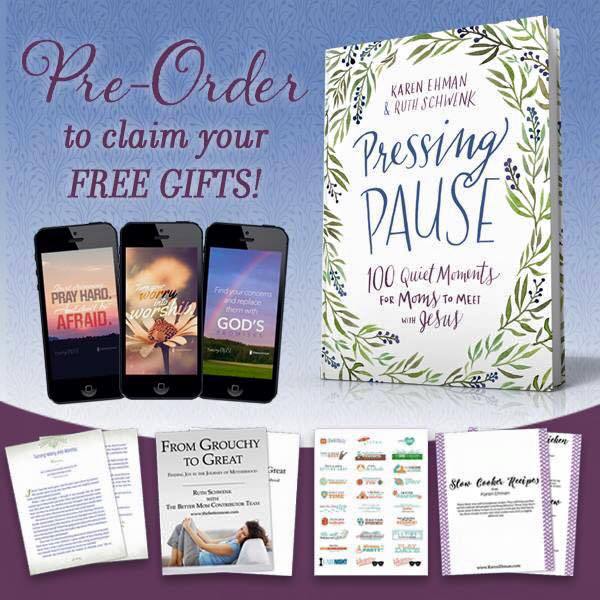 Pressing Pause pre-order free gifts