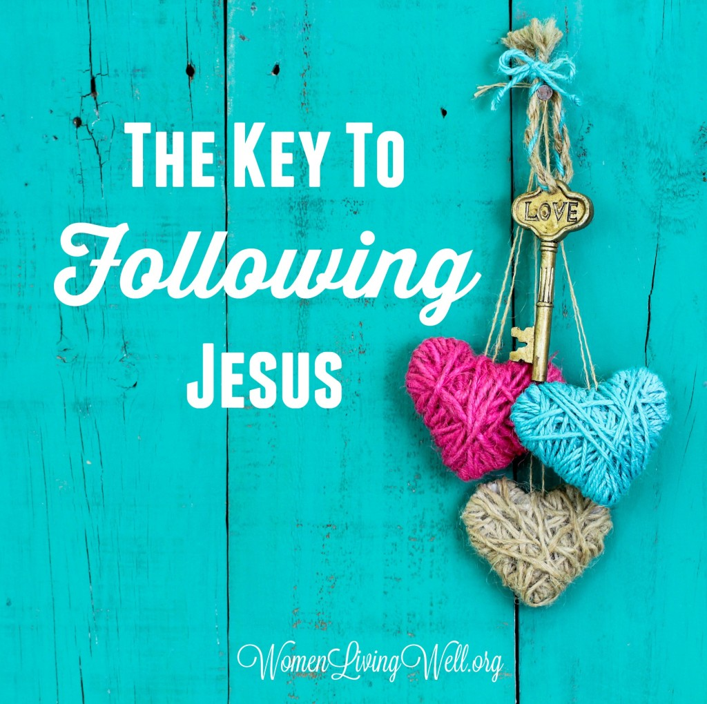 The Key to Following Jesus